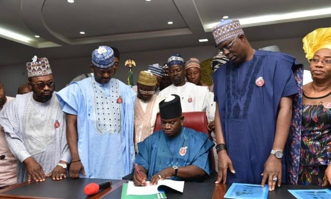 Kogi Governor Signs 176 Billion Naira 2020 Budget Into Law