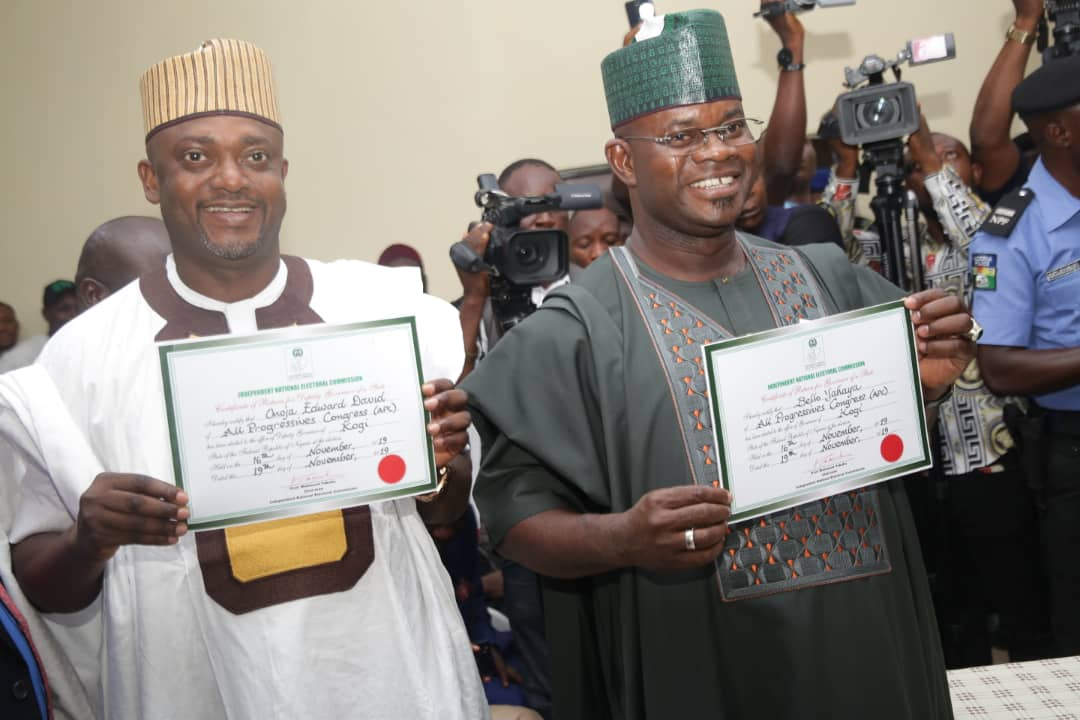 KOGI: YOUR VICTORY AT SUPREME COURT WELL DESERVED -HON. LAWAL CONGRATULATES GOV. BELLO, ONOJA