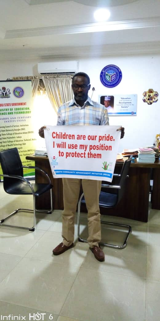 Kogi Govt To Reinforce Guidance & Counseling In Schools To Curb Violence Against Children