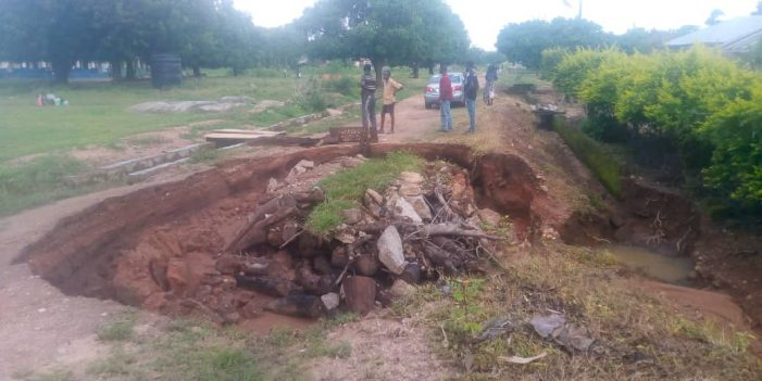 Ogga Community Appeals To FG, Kogi For Help As Erosion Cuts Township Road Into Two