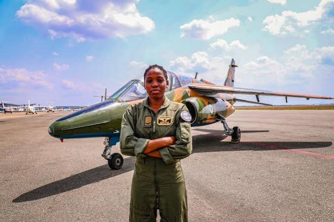 (1995-2020) PROFILE OF FLYING OFFICER TOLULOPE AROTILE, NIGERIA'S FIRST FEMALE HELICOPTER FIGHTER PILOT
