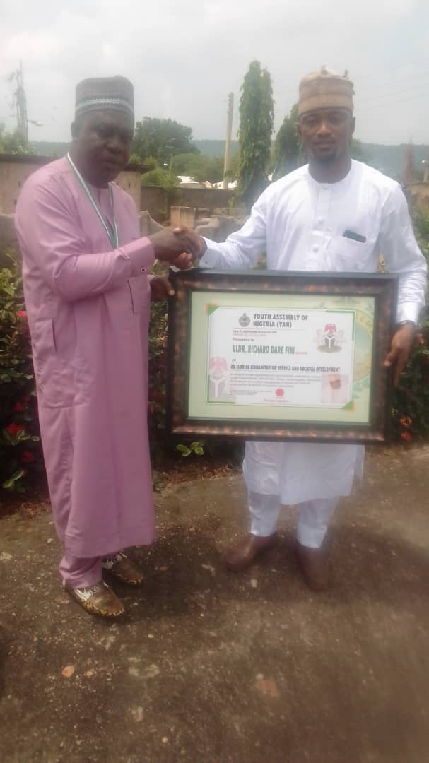 I Won't Disappoint – Prince Fiki Assures As He Receives Award, Investiture From YAN