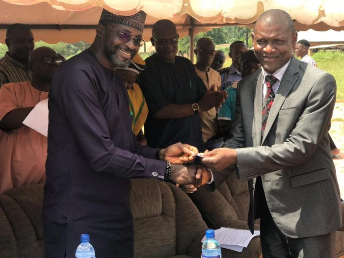 Kogi Hands Over Site For Establishment of Science and Technical College To FG