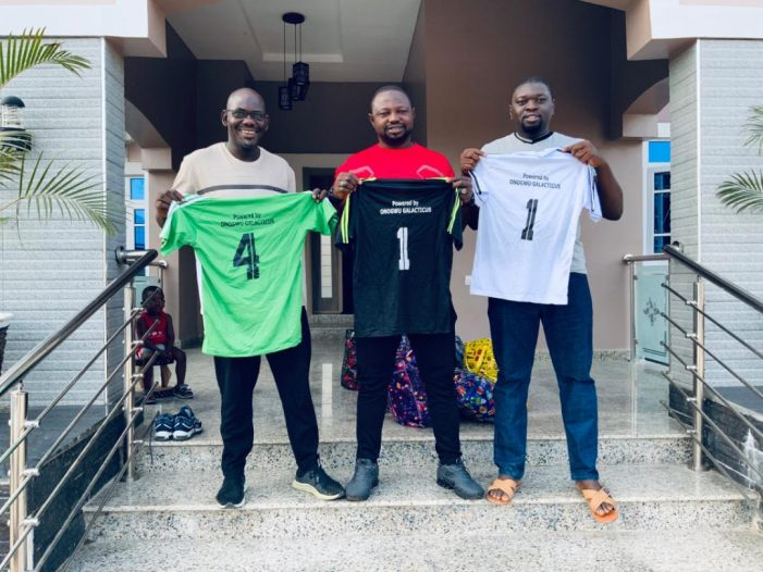 IGALA NATIONS CUP: Gov Bello's Aides  donates Football kits, urges youth to engage in sport activities
