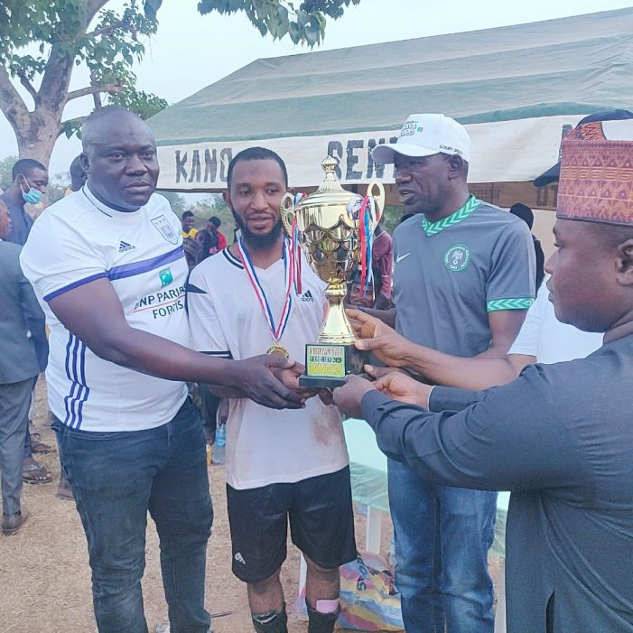 WHITE LIONS CUP: ONZO SUPER LIONS DEFEAT GIRINYA FC TO DEFEND TITLE