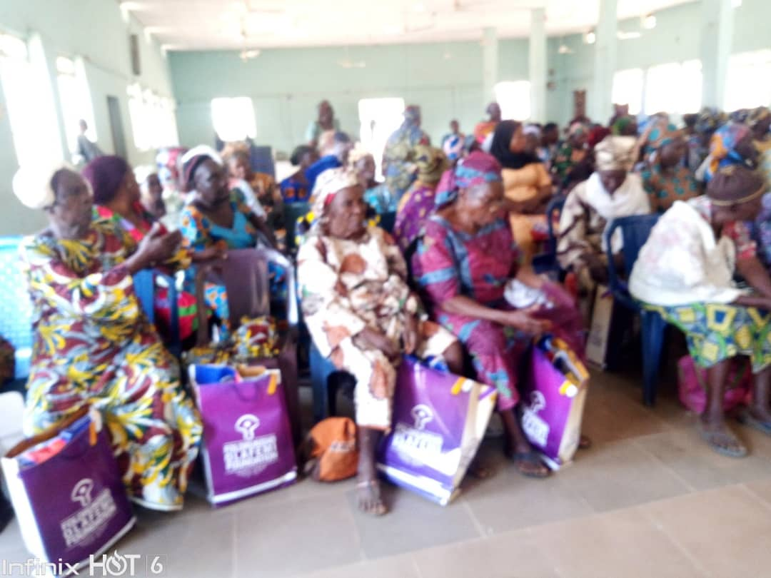 NGO distributes food Items to widows, empowers youths In Kogi