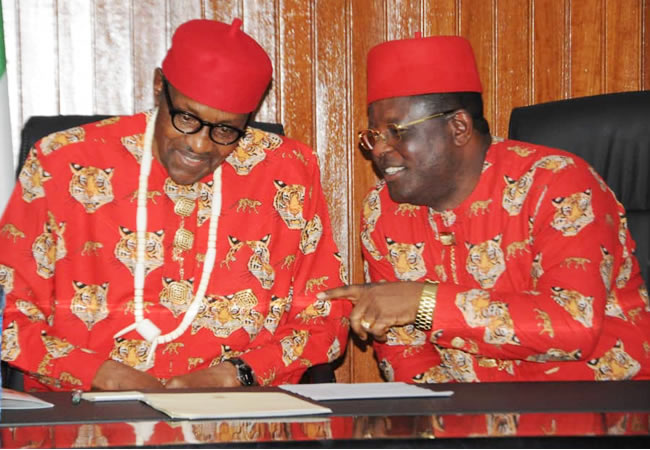 I Betrayed PDP, Worked For Buhari in 2019 – Gov. Umahi