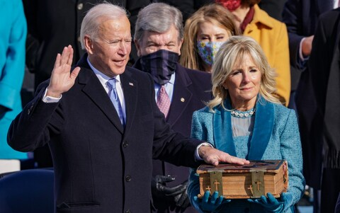 US PRESIDENTIAL INAUGURATION: CHRICED TELLS BIDEN WHAT TO DO QUICKLY
