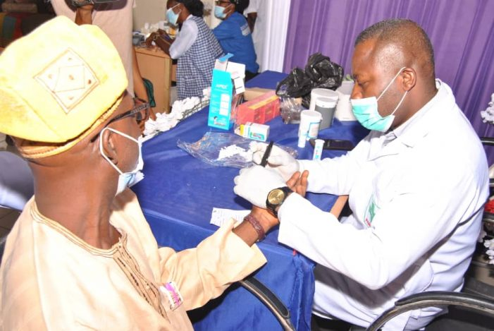 DHF Conducts Free Cancer screening, Gives Drugs To Indigent People In Kogi Communities