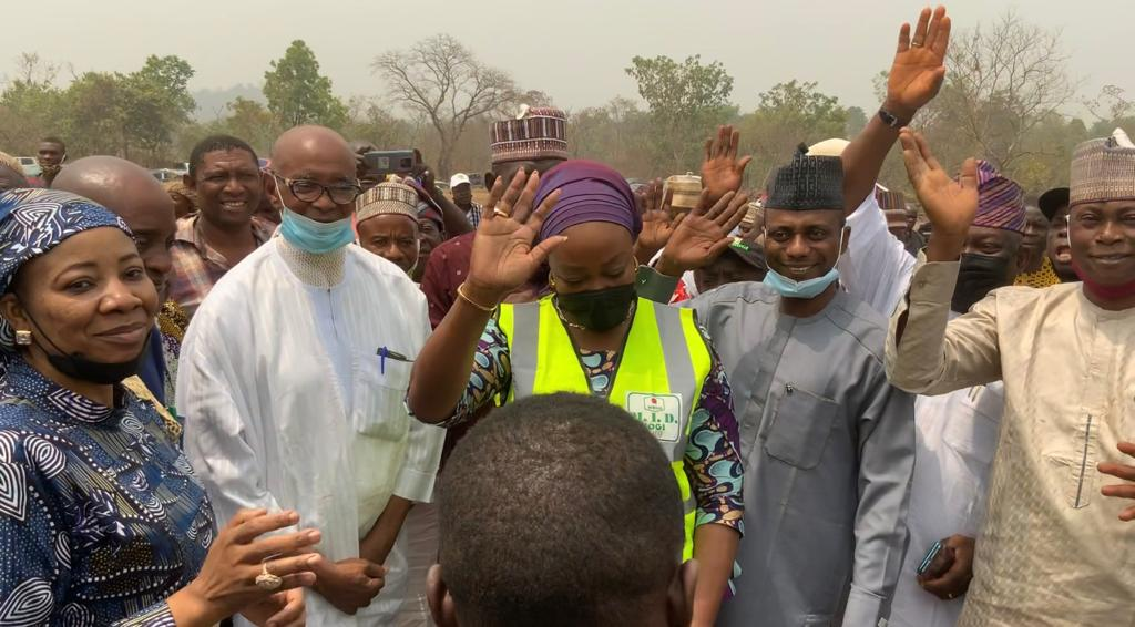 FG Flag-off Construction of Gold Processing Cluster in Kogi