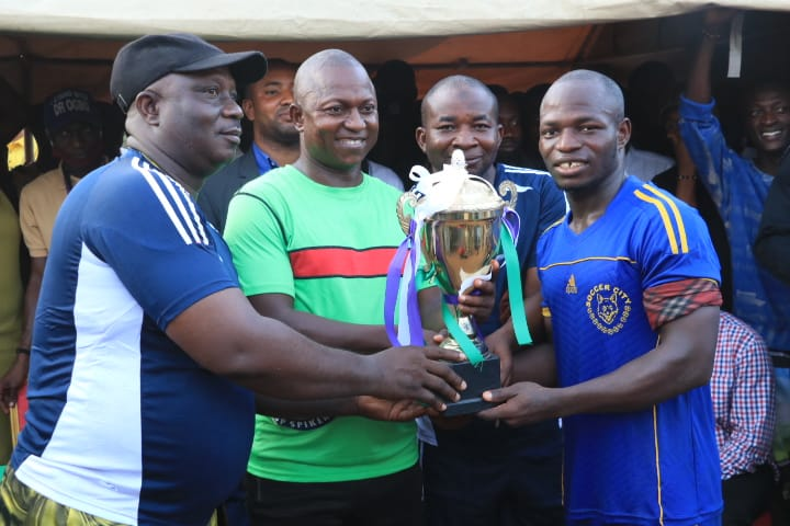 ACCOUNTANCY DEPT LIFTS KOGI POLY RECTOR'S CUP