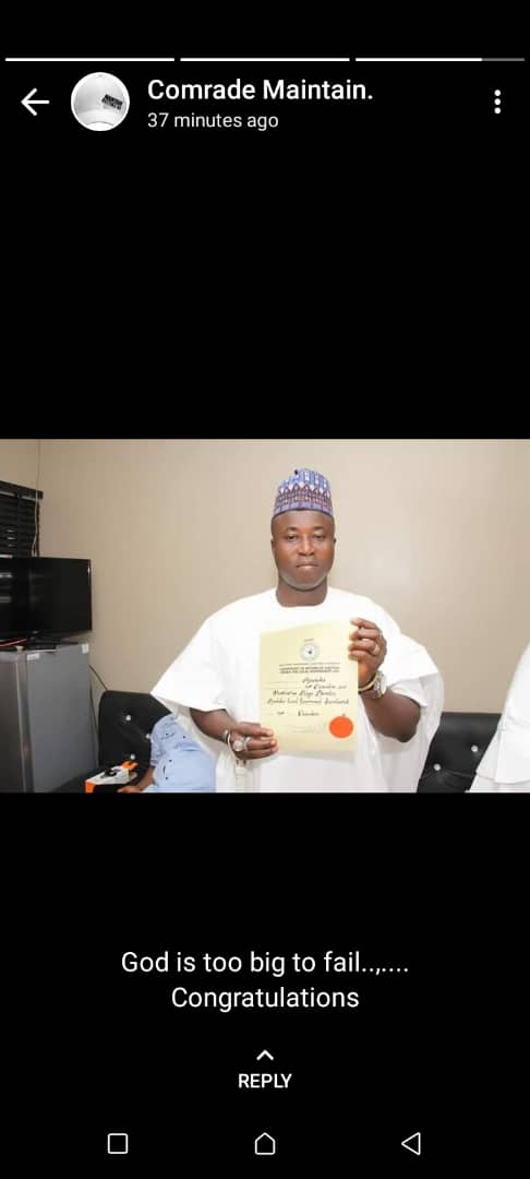 OPINION: INSPIRING STORY OF PRINCE MUSTAPHA AKA'ABA, THE SECURITY CONSCIOUS CHAIRMAN OF AJAOKUTA LOCAL GOVERNMENT…