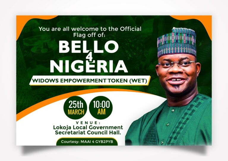 Bello4Nigeria Network Empowers 100 Widows in Kogi