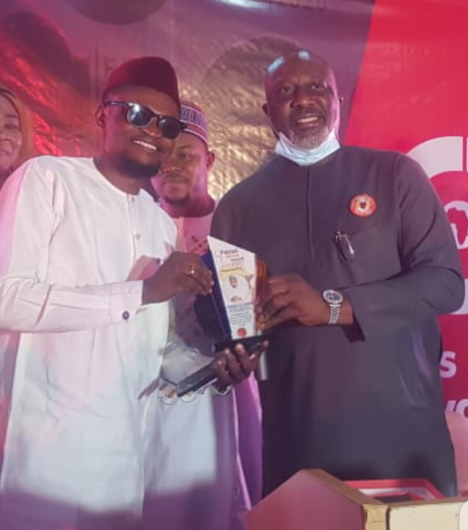EUTV CEO GETS FOCUS AFRICA AWARD OF OUTSTANDING PERFORMANCE.