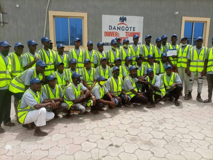 Dangote takes measures to curb crashes, launches driver's training centre