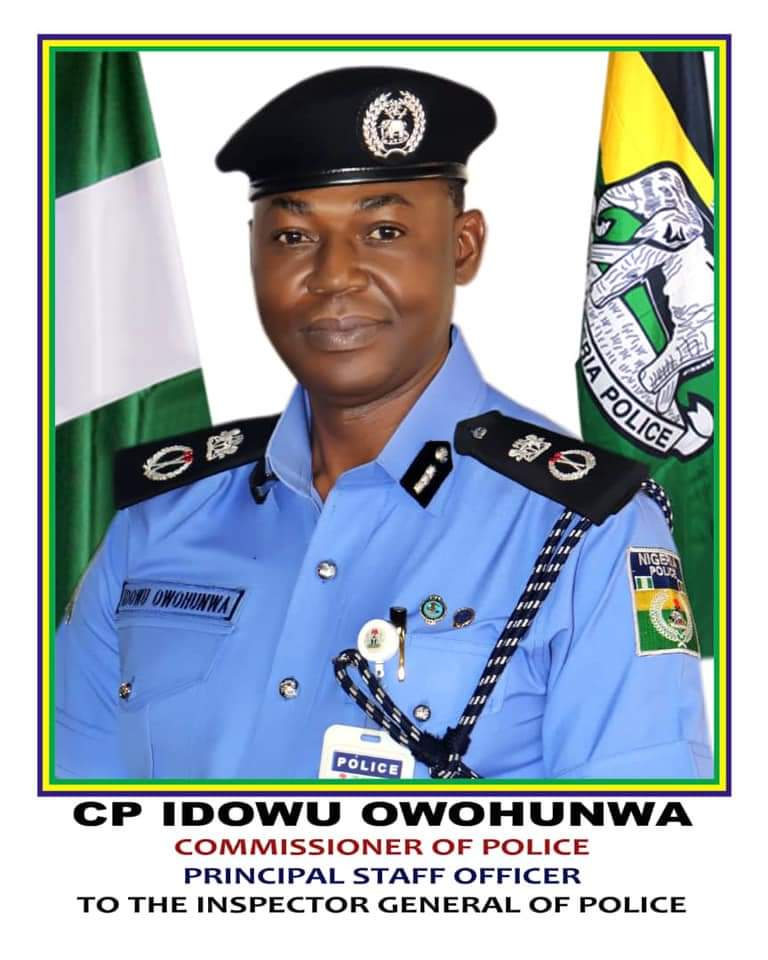 IGP Reappoints Owohunwa PSO